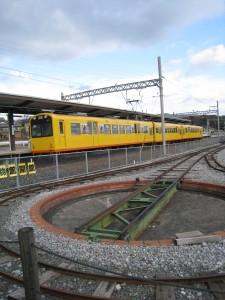 漢方の電車