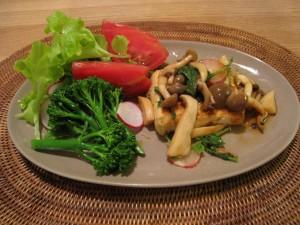 漢方の豆腐ステーキ