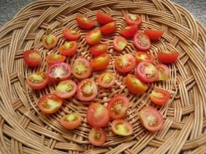 漢方の干しミニトマト