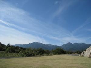 漢方の鈴鹿山脈