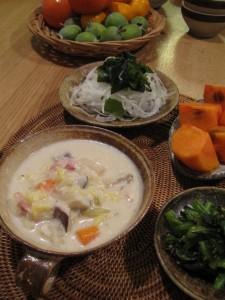 漢方の豆乳スープ