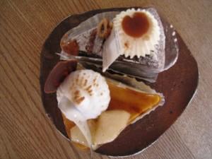 漢方のケーキ
