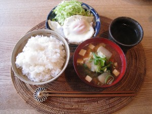 漢方の朝食
