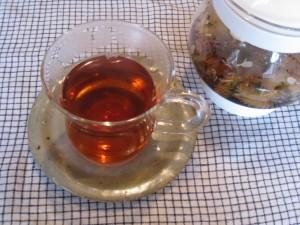 漢方の美花茶