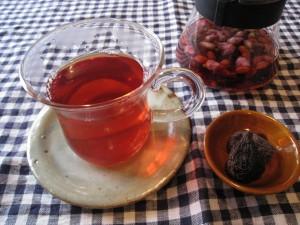 漢方の麗花茶
