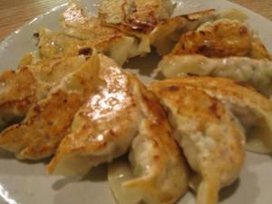 漢方の餃子