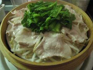 漢方の蒸し料理