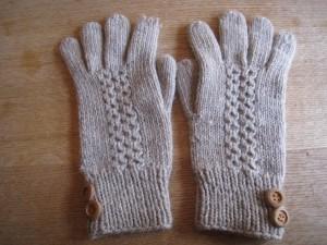 漢方の手袋
