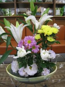漢方の生け花