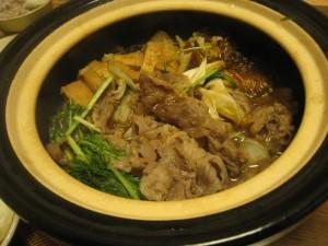 漢方のすき焼き