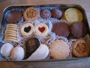 漢方のクッキー