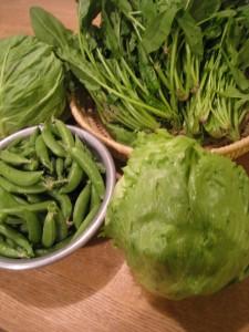 漢方の野菜