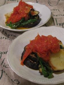 漢方の自家製トマトソース