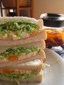 漢方のサンドイッチ