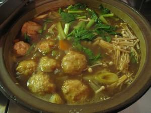 漢方のカレー鍋