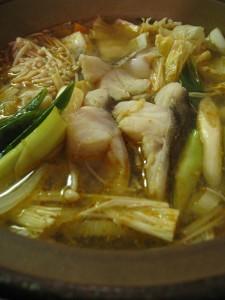 漢方のピリ辛鍋