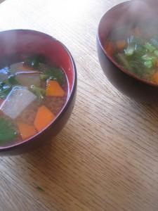 漢方の味噌汁