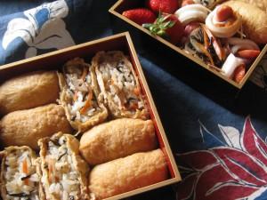 漢方の稲荷寿司