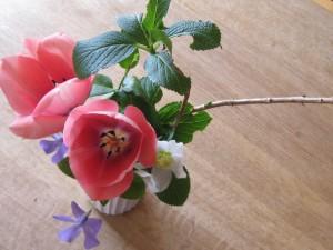 漢方のお花