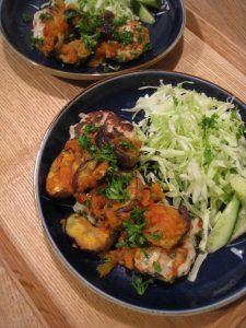 漢方のトマト料理