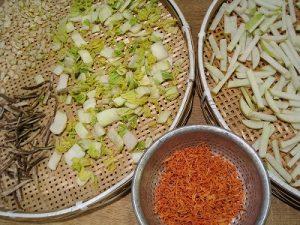 漢方の干し野菜