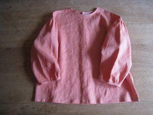 漢方のリネンの服