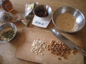 漢方のお菓子作り