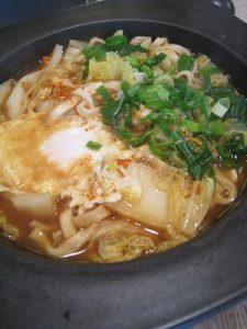 漢方の味噌煮込みうどん