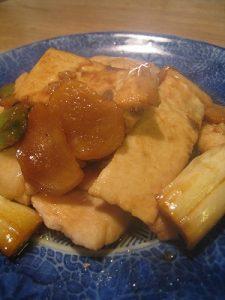 漢方の煮魚