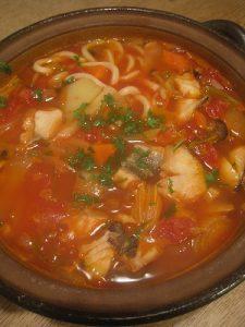 漢方のトマト鍋