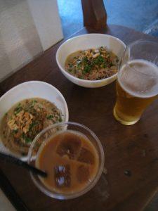 漢方のジャージャー麵