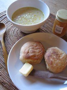 漢方のコーンスープ