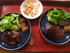 漢方のハンバーグ