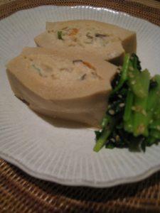 漢方の高野豆腐