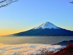 漢方の富士山