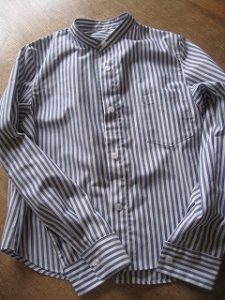 漢方のシャツ