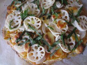 漢方のピザ